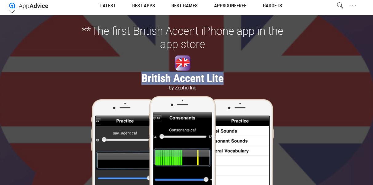 british accent lite