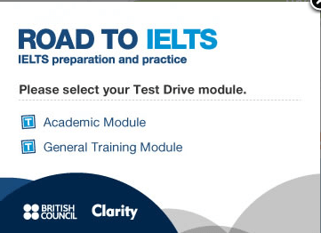road to IELTS academic